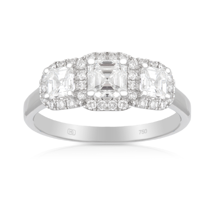 """18ct White Gold Engagement Ring, $13,499 from [Hardy Brothers](https://www.hardybrothers.com.au/products/9ED04