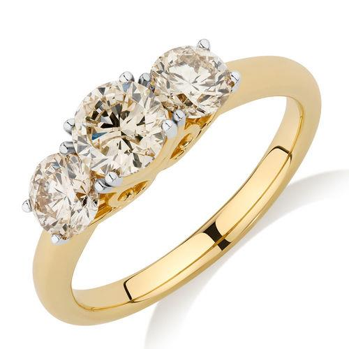 """Engagement Ring With 1.63 Carat Of Diamonds in 14ct Yellow Gold, $3,999 from [Michael Hill](http://www.michaelhill.com.au/engagement-ring-with-1.63-carat-tw-of-diamonds-in-14ct-yellow-gold-15009852.html