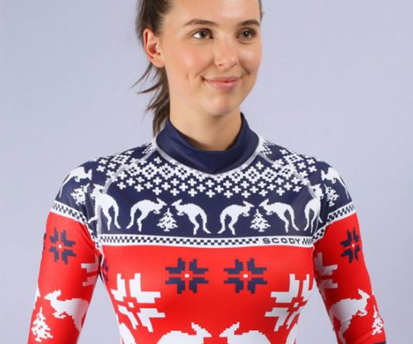 "**Ugly Christmas Rashie, $69.95 at [UglyXmasRashie.com.au](https://uglyxmasrashie.com.au/shop/|target=""_blank"").**    Have you heard? This summer, sun safety is the new black. Gift this Ugly Christmas Rashie to your do-gooder mate and they'll be protected AF at the beach. Plus, you'll also be supporting the Cancer Council of Australia."