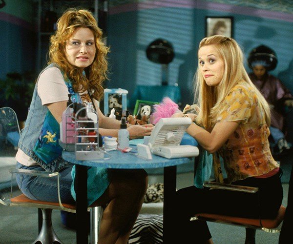 Round Manicure Legally Blonde