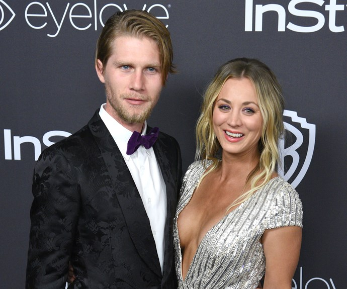 kaley cuoco engaged karl cook