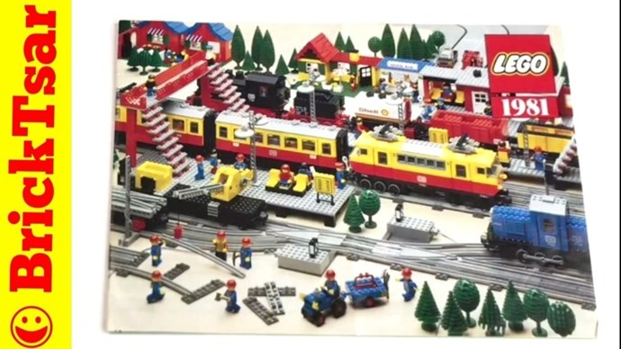 **1981: LEGO Train Set**  Because why should any child have to choose between LEGO and a train set?