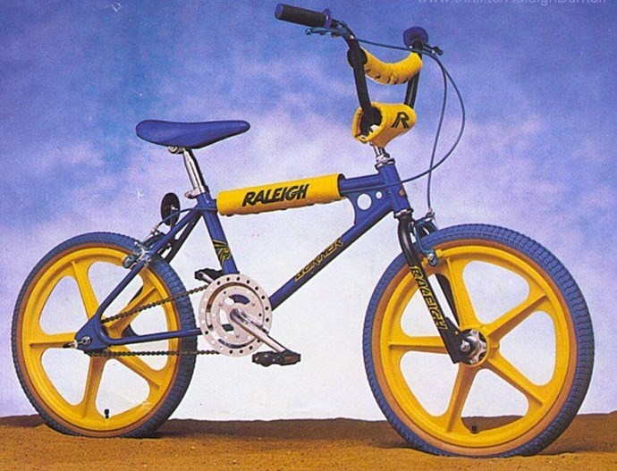 **1982: BMX Bike**  The BMX has been made fashionable again thanks to the *Stranger Things* kids.