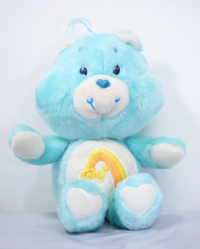 **1985: Care Bears**  The likes of Funshine Bear and Tenderheart Bear sold 40 million worldwide.