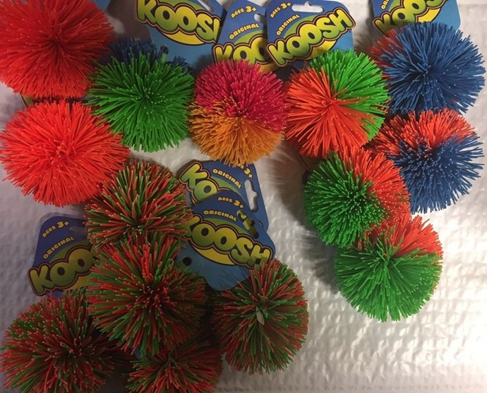 **1987: Koosh Balls**  You know what, we never actually knew what these were called until now.