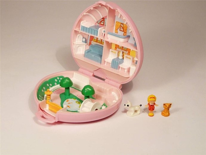 **1989 honourable mention: Polly Pocket**  Yes, Game Boys sold more in 1989 than Polly Pockets, but who cares? We still love that little lady.