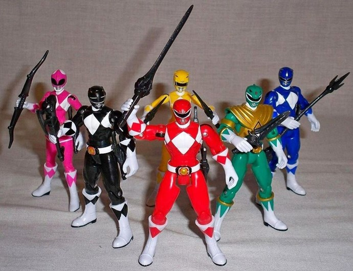 **1994: Power Rangers**  Everyone knows the yellow one was the best, right?