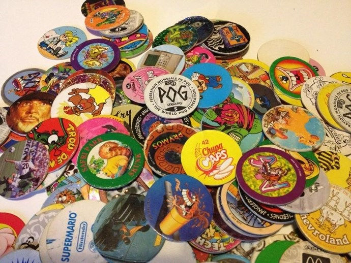 **1995: Pogs**  How is it possible that the cardboard circles sold 350 million worldwide?