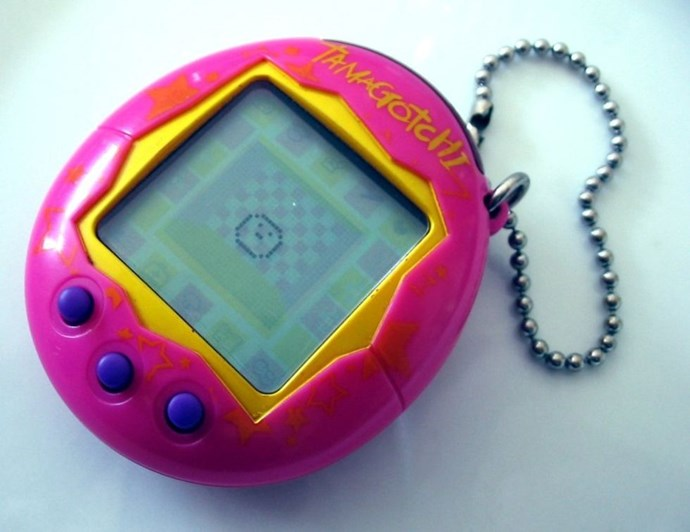 **1997: Tamagotchi**  These were worryingly easy to kill. Sorry, Tam-Tam.
