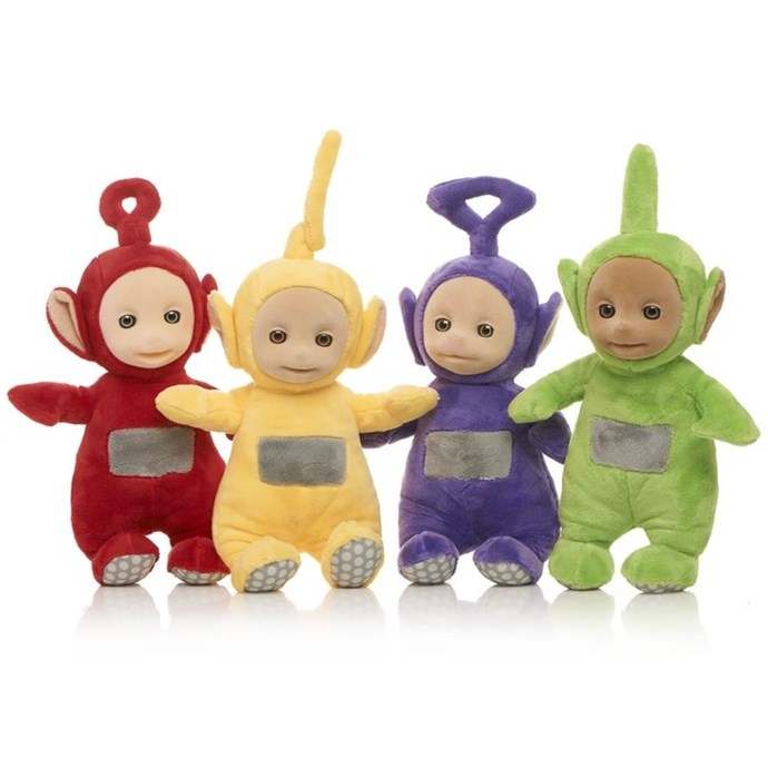 **1997 honourable mention: Tellytubbies**  They may not have been the biggest selling toy of 1997, but our lives wouldn't be the same without Tinky Winky, Dipsy, La La and Po.