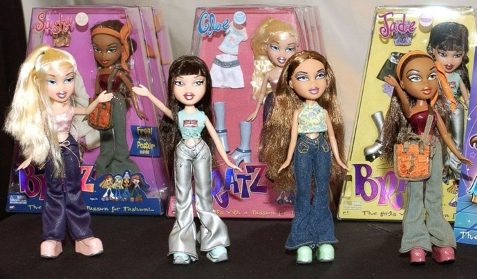 **2001: Bratz Dolls**  These ladies and their enormous eyes sold 125 million worldwide.