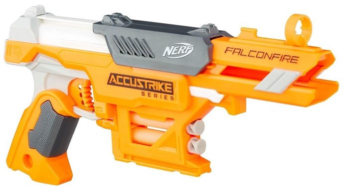 **2012: Nerf Gun**  The perfect way for boys to terrorise their little sisters.