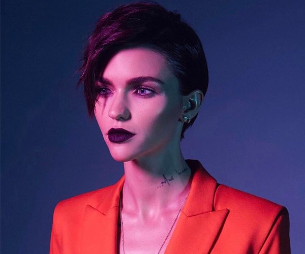 Ruby Rose acne