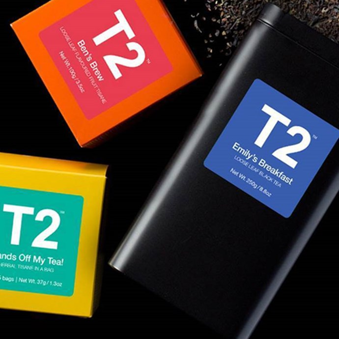 "**T2 Name Your Brew Gift Cubes, $20 at [T2 Melbourne Central and Westfield Sydney](http://www.t2tea.com/en/au/Home|target=""_blank"").**    If you're prepared to brave the Christmas crowds, visit the T2 stores at Melbourne Central or Westfield Sydney to put your name (or, more likely, you *friend's* name) on a box of tea."