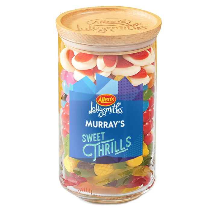"**Allen's Lolly Jar, $35 at [Allen's Lollies](https://www.allenslollies.com.au/shop/create|target=""_blank"").**  Nothing beats a jar of Allen's lollies. Nothing. And that's why we're really hoping for a personalised Allen's Lolly Jar under our tree this year."