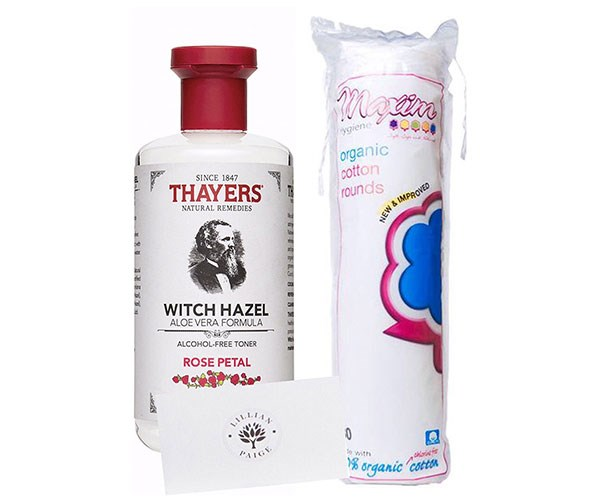 "**Thayers Rose Petal Alcohol-Free Witch Hazel with Aloe Vera, $63.49 at [Amazon](https://www.amazon.com.au/LP-Bundle-Thayers-alcohol-free-Cotton/dp/B0719TZTGJ/ref=sr_1_6?s=beauty&ie=UTF8&qid=1512528937&sr=1-6&keywords=witch+hazel|target=""_blank"").**    On Amazon's original US site, Thayers Rose Petal Alcohol-Free Witch Hazel with Aloe Vera has over 10,000 reviews — 91% being four or five stars. Witch hazel is a natural astringent, helping with acne, inflammation and redness. Sure, you *could* pick up a bottle of witch hazel from the supermarket, but this formula is extra luxe."