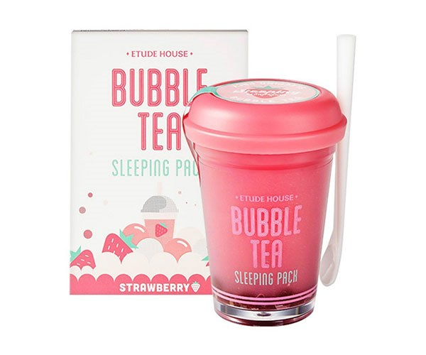 "**Etude House Bubble Tea Sleeping Pack (Strawberry Tea), $20 at [Amazon](https://www.amazon.com.au/gp/product/B01E54U1S2/ref=s9_acsd_top_hd_bw_b5cXTjX_c_x_w?pf_rd_m=ANEGB3WVEVKZB&pf_rd_s=merchandised-search-4&pf_rd_r=WVHW8CQKVJ1RDVJ9N1JR&pf_rd_t=101&pf_rd_p=25efa738-44e8-5f53-8da4-5b64d9938d3b&pf_rd_i=5150144051|target=""_blank"").**   Warning: This bubble tea isn't for consumption. Instead, apply this hydrating sleep mask to your face an hour before bed and you'll wake up to a silky smooth complexion."
