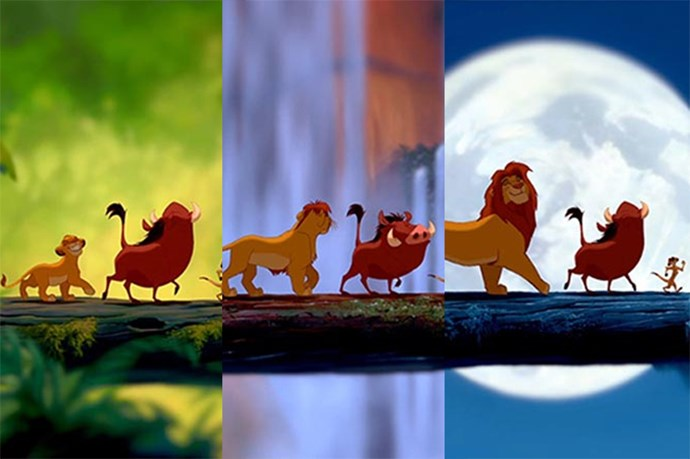 Also, let's not forget Simba's iconic growing up scene. There must be a reason why we didn't get to see much of teenage Simba…