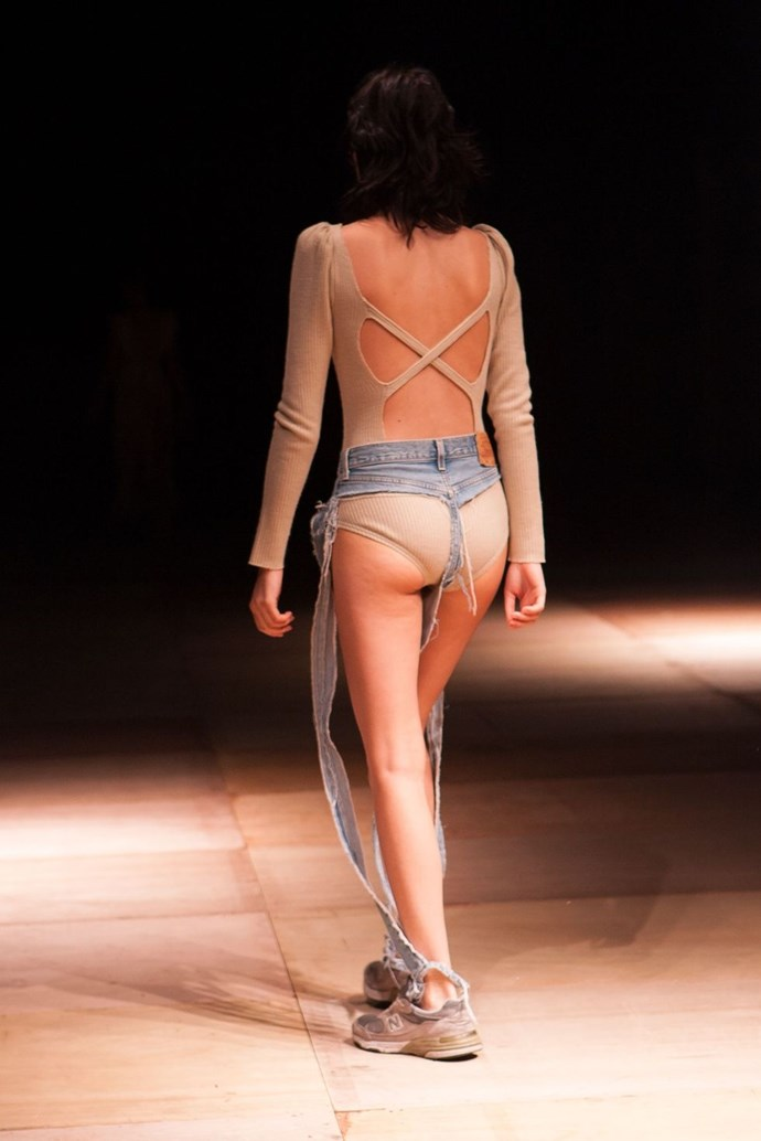 **Thong Jeans** <br><br> These were the thong jeans heard 'round the world when they debuted at Tokyo Fashion Week in October. Sure, they're breezy. Practical? Not so much.