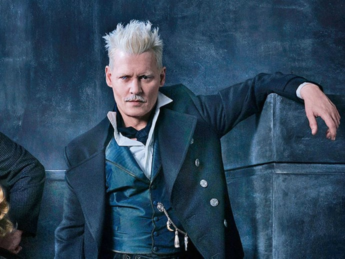 JK Rowling Defends The Controversial Casting of Johnny Depp as Grindelwald
