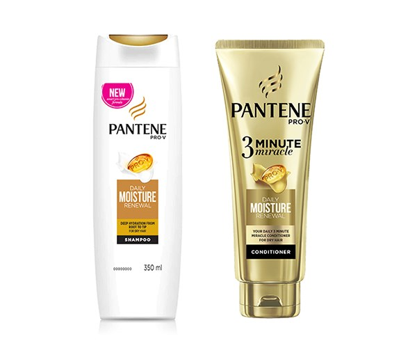 """Pantene Pro-V Daily Moisture Renewal Shampoo 350ml, $6.99, and 3 Minute Miracle Conditioner Daily Moisture, $6.99, available at [Priceline](https://www.priceline.com.au/brand/pantene