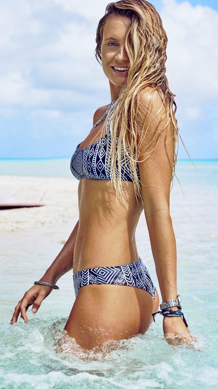 "**SHOP NOW:** [Black Sands Bralette Bikini Top](https://www.ripcurl.com.au/womens/clothing/swimwear/tops/black-sands-bralette-bikini-top.html|target=""_blank""|rel=""nofollow""), $49.99 and [Black Sands Revo Cheeky Bikini Pant Bottom](https://www.ripcurl.com.au/womens/clothing/swimwear/bottoms/black-sands-revo-cheeky-bikini-pant-bottom.html|target=""_blank""|rel=""nofollow""), $49.99"