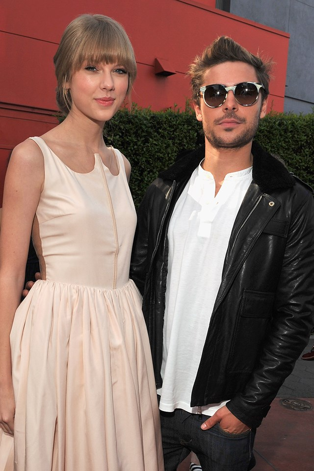 """**Taylor Swift** <br><br> Zac and Taylor worked together when they both voiced roles in *Dr. Seuss' The Lorax* in 2012. Even though they didn't have *on-screen* chemistry, it was still enough for Taylor to be asked about the dating rumours by Ellen DeGeneres. """"We are not a couple,"""" Taylor said. """"He's awesome, but we are not a couple."""" That would explain why none of Taylor's songs can be linked back to Zac."""