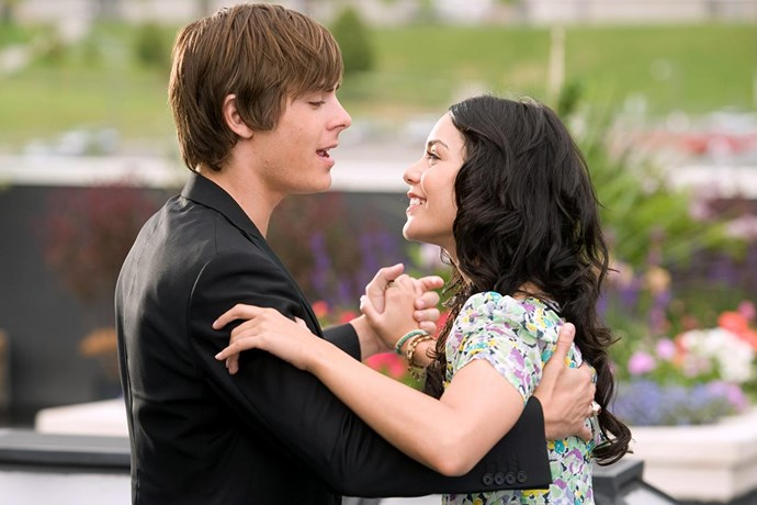 **Vanessa Hudgens** <br><br> This one was the real deal. Vanessa and Zac starred as *High School Musical* lovebirds Gabriella and Troy, and this sweet Disney hook-up became a real four-year relationship. Sadly, Vanessa and Zac called it quits in 2010, and even though that was ages ago, we're still not over it.