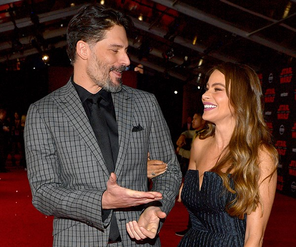 Sofia Vergara Joe Manganiello red carpet