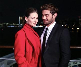 Zac Efron and Rebecca Ferguson