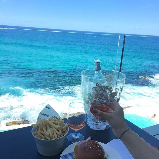 "**Bondi Icebergs** <br><br> It's a given, but where else will you get the same stunning view of Sydney's most iconic beach and your cocktail in the same frame? Dinner is fine, but TBH a lunch booking is where you'll get the best shots, especially if you want that stunning blue pool and ocean. Window seat please! <br><br> Image: [@salsawr](https://www.instagram.com/p/BceQZoEjeAY/?taken-at=217929430|target=""_blank"")"