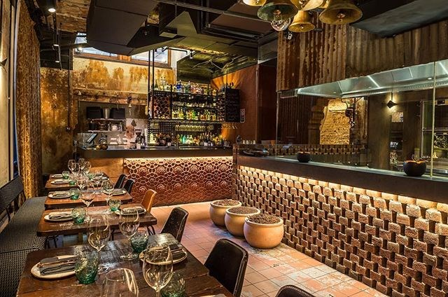 "**INDU** <br><br> INDU says it's a celebration of southern Indian and Sri Lankan village culture, and this extends way beyond the finger-lickin' good menu. The décor detail is impeccable, from the tile designs to the way the spices are displayed. <br><br> Image: [@indu_dining](https://www.instagram.com/p/BYshsENgQxJ/?taken-by=indu_dining|target=""_blank"")"