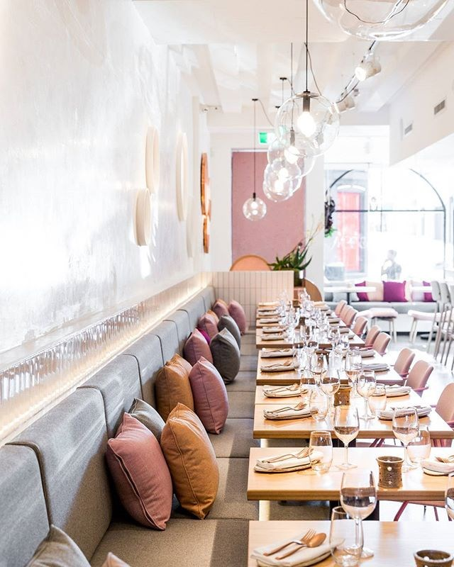 "**Nour** <br><br> 'Nour' is Arabic for 'light,' and when the lighting is perfect, this restaurant looks incredibly dreamy. Oh, the modern Lebanese food is also super delicious. <br><br> Image: [@nourrestaurant](https://www.instagram.com/p/BWZZIFfgDaG/?taken-by=nourrestaurant|target=""_blank"")"