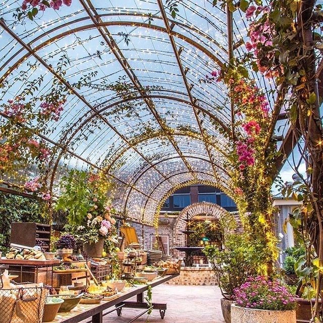 "**The Grounds** <br><br> It goes without saying that The Grounds is iconic for its food and for being visually appealing. No wonder one year it was the ninth-most Instagrammed location in Sydney! <br><br> Image: [@thegrounds](https://www.instagram.com/p/BcHTOVol6tH/?taken-by=thegrounds|target=""_blank"")"