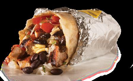 Burrito from **Guzman Y Gomez** (Sydney)