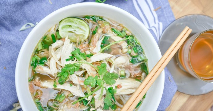 Poached Chicken Pho from **Hanoi Hannah** (Melbourne)