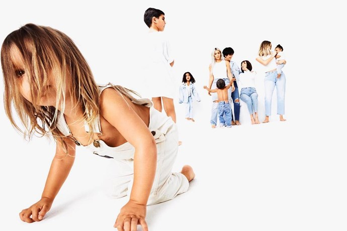 Day 13: Reign Disick, Mason Disick, North West, Kim Kardashian West, Saint West, Kris Jenner, MJ, Khloé Kardashian and Dream Kardashian.