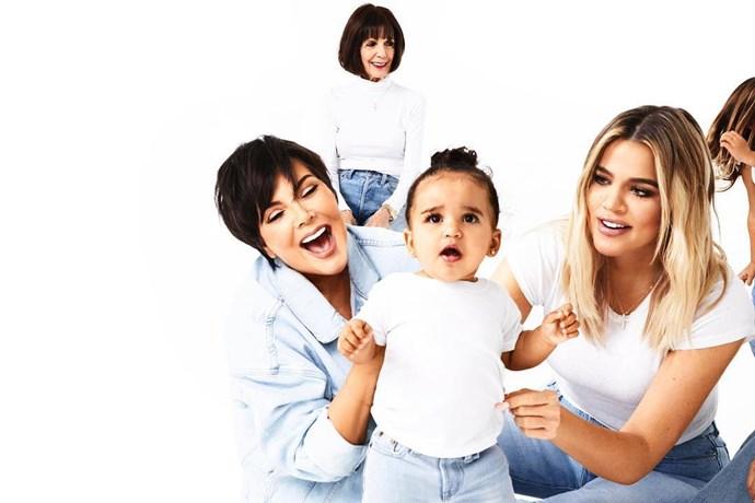 Day 17: Kris Jenner, MJ, Dream Kardashian, Khloé Kardashian and Penelope Disick.