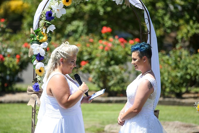Amy Laker and Lauren Price's wedding in Sydney