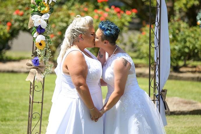 Lauren Price and Amy Laker's wedding in Sydney