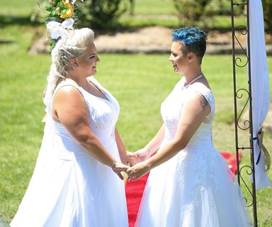 Australia's first legal same-sex weddings happened on the weekend, and they were beautiful