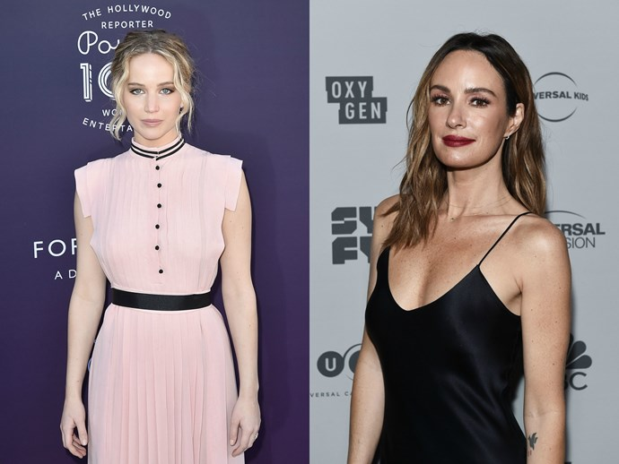 Jennifer Lawrence backs up E! host Catt Sadler after she quit over pay gap dispute