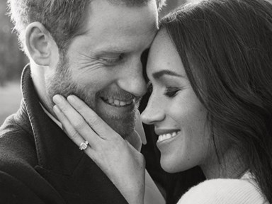 Prince Harry and Meghan Markle's engagement pics are touchy-feely for a v important reason