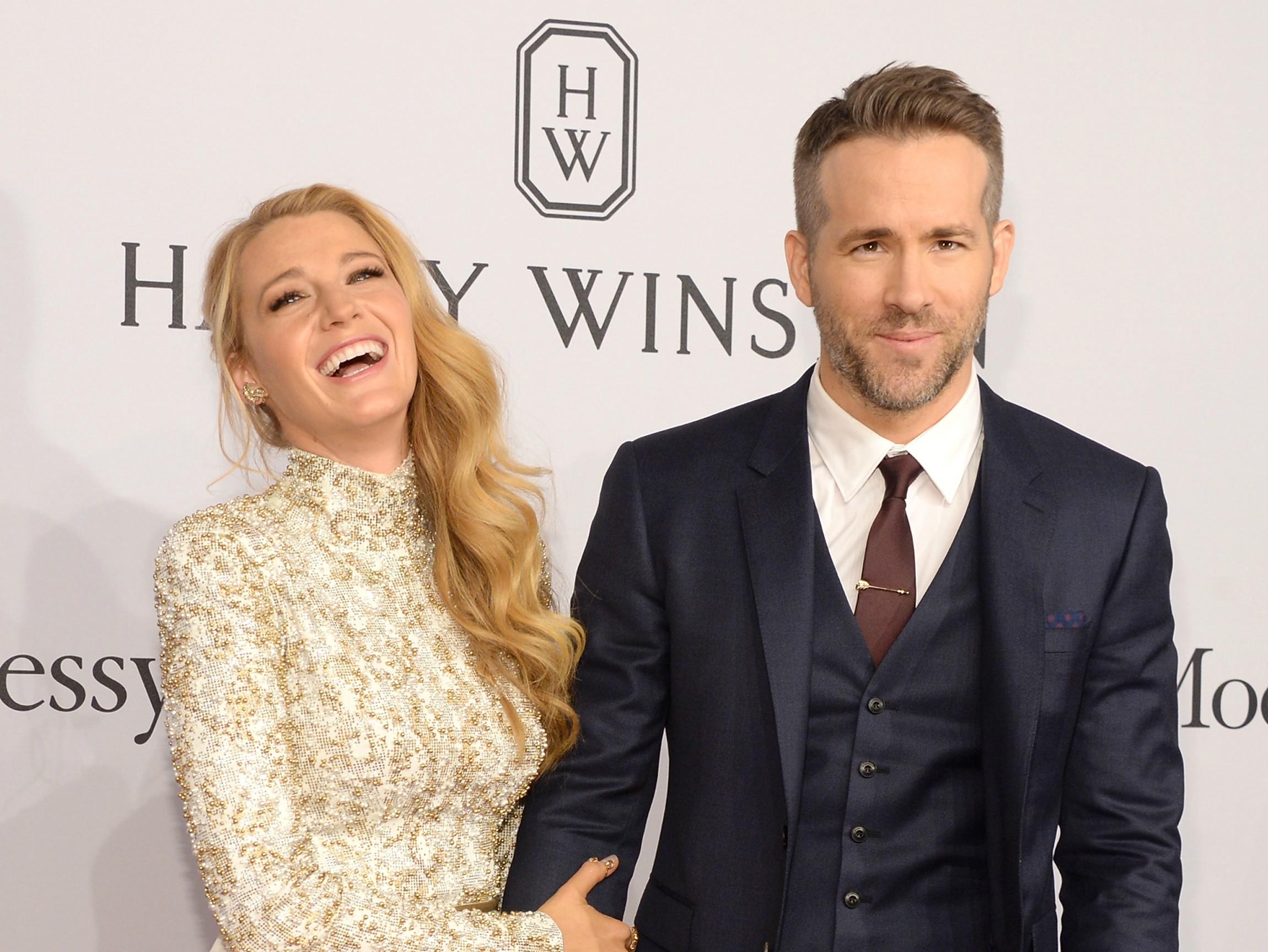 Blake Lively Calls Ryan Reynolds