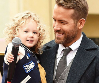 Ryan Reynolds' story to daughter James about Santa got pretty dark
