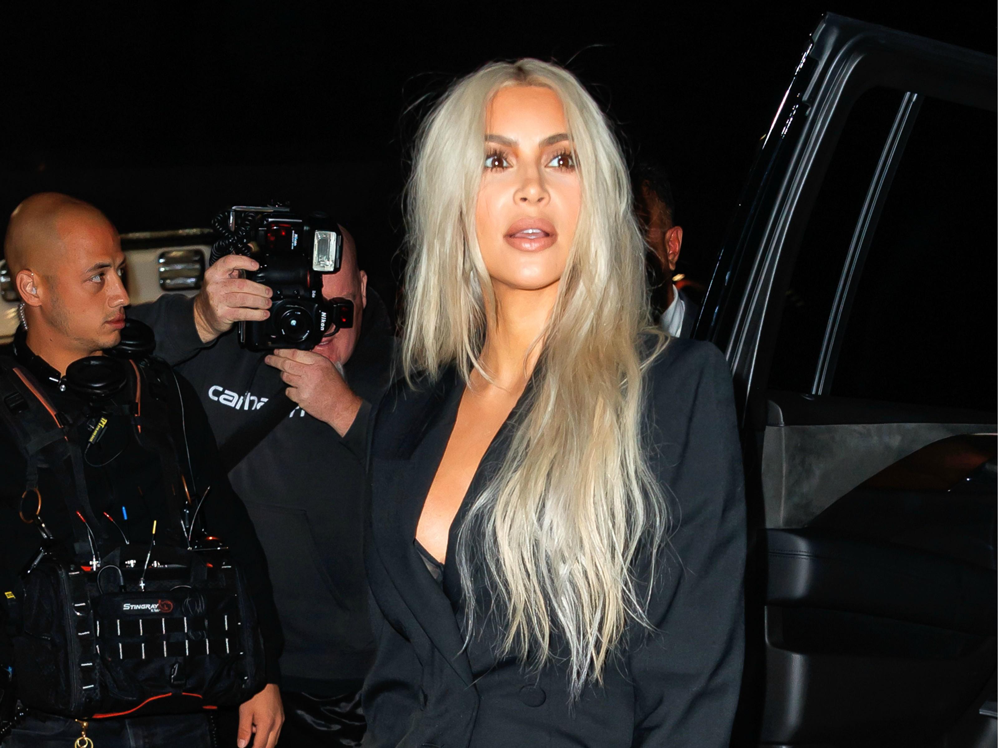 Kim Kardashian Shares Holiday Family Photo After Deleting Christmas Card Snaps