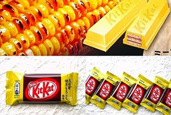 **Grilled Corn KitKat:** Just straight-up NO.