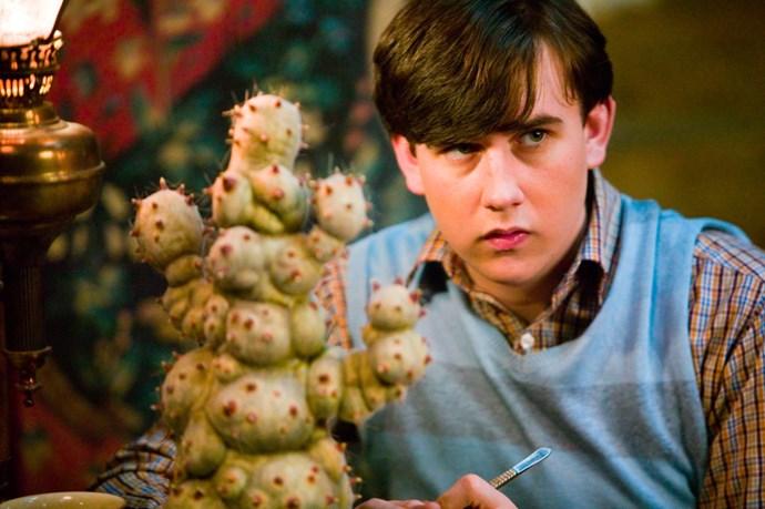 Neville was always a studious fella.