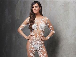 Naked wedding dress