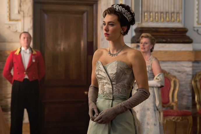 The Crown's Vanessa Kirby as Princess Margaret in season two.